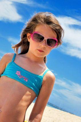 Gafas de sol para niños: necesitan más protección que los adultos