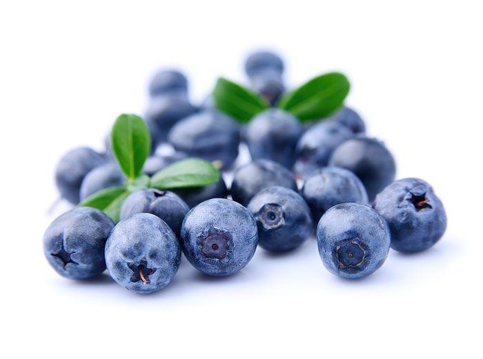 Los arándanos tienen muchos antioxidantes y son buenos para tu visión