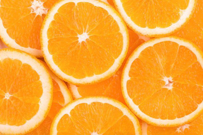 Las naranjas son buenas para la visión