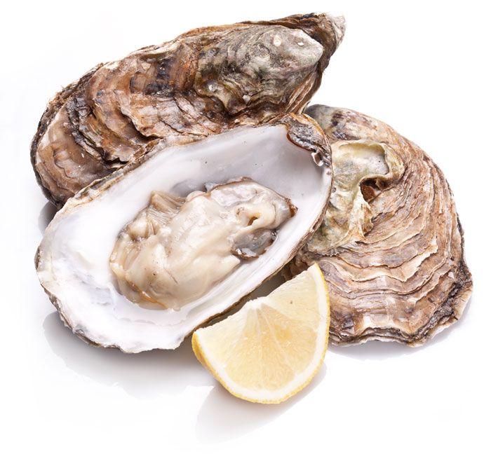 Las ostras contienen zinc que es necesaria para tu visión