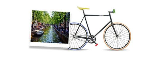 Polaroid sortea 10 bicicletas Fixie