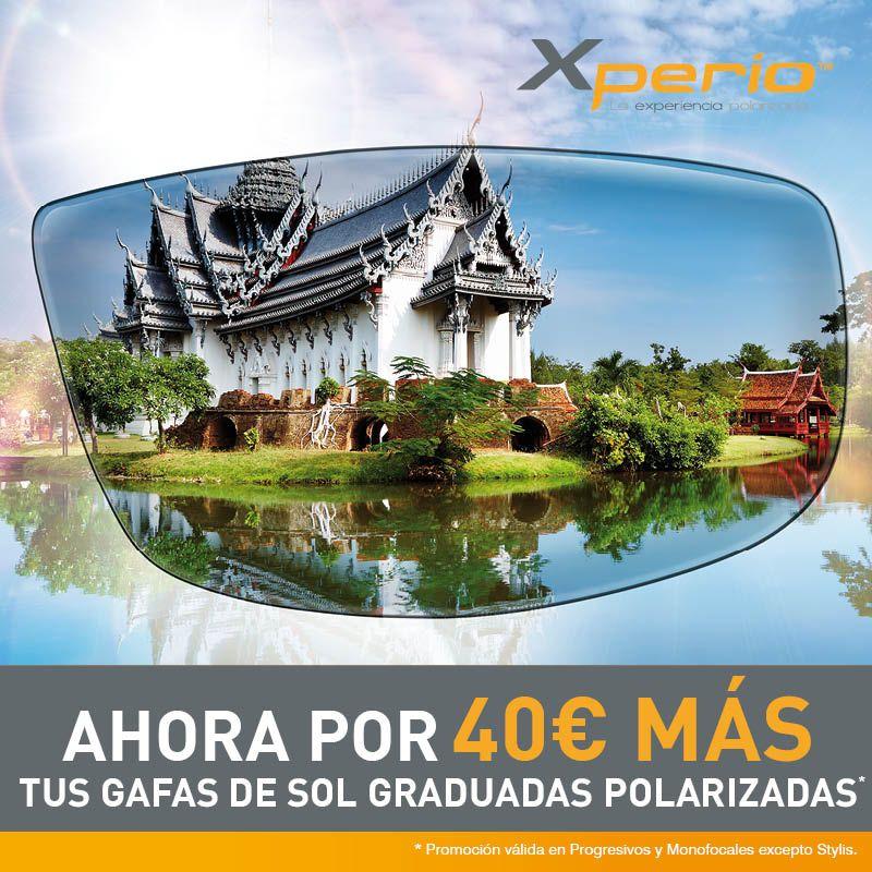Campaña lentes polarizadas experio 40€