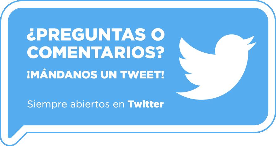 Pregúntanos en Twitter @Optikari